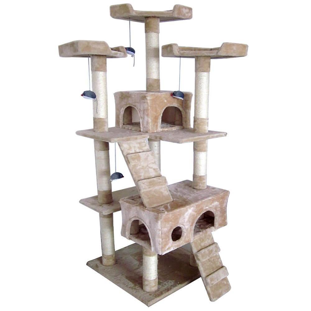 Katzen Kratzbaum mittelhoch von Leopet bei Amazon kaufen! (Foto:Amazon)