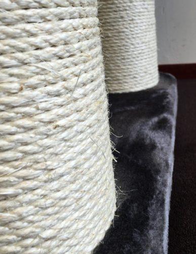 stabile sisal stämme für den xxl kratzbaum für schwere katzen