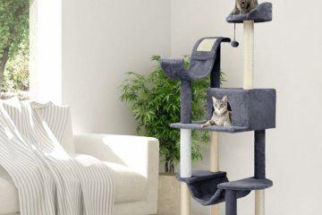 Der Finether Katzenbaum – Solider Kletterbaum zum günstigen Preis
