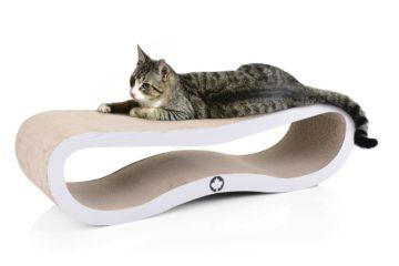 Kratzmöbel aus Wellpappe für Katzen