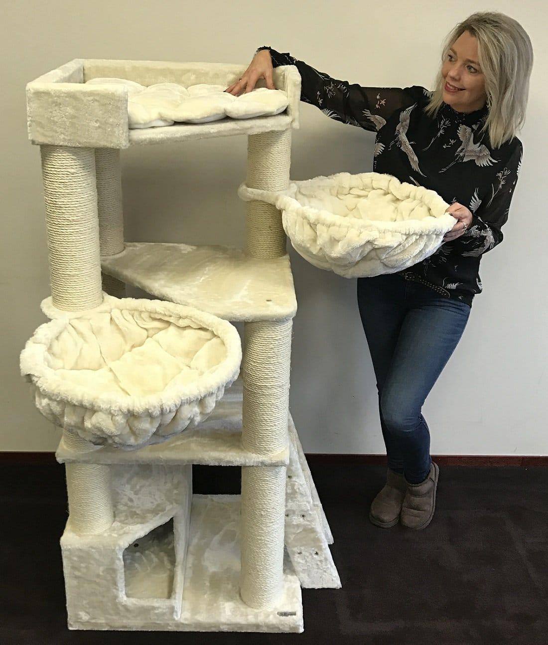 rhrquality kratzbaum hochwertig und stabil f r go e katzen. Black Bedroom Furniture Sets. Home Design Ideas