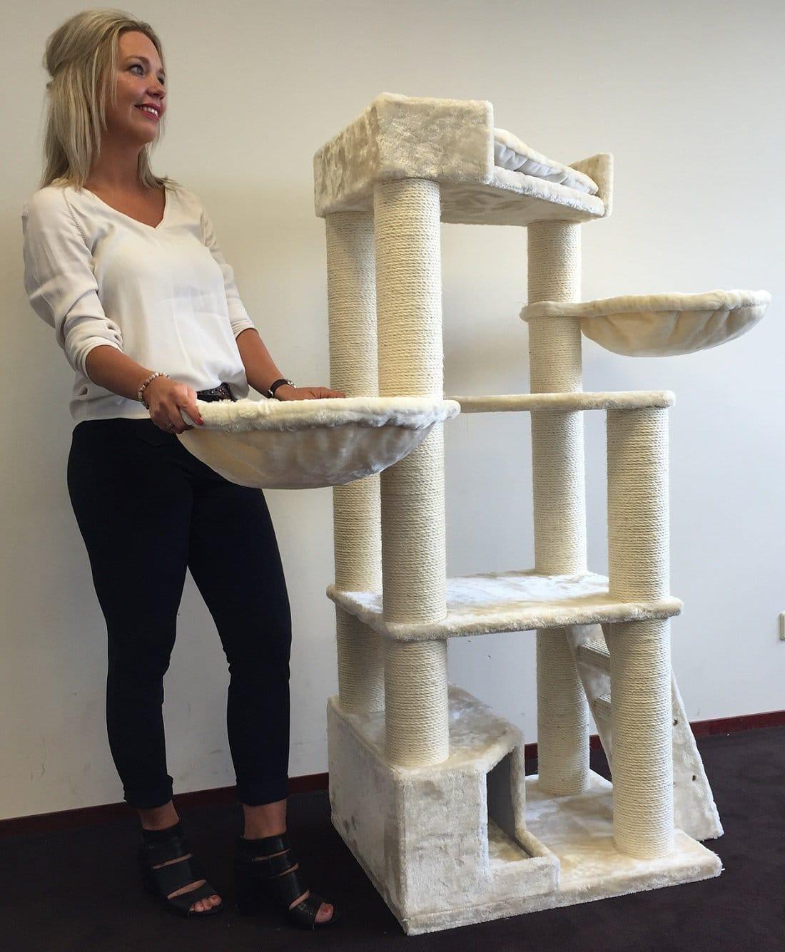 rhrquality kratzbaum - hochwertig und stabil für goße katzen
