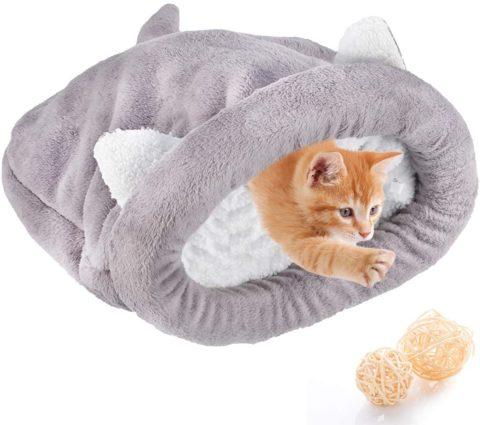 Katze Schlafsack